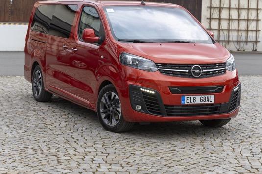 Opel Zafira-e neboli obývák na kolech