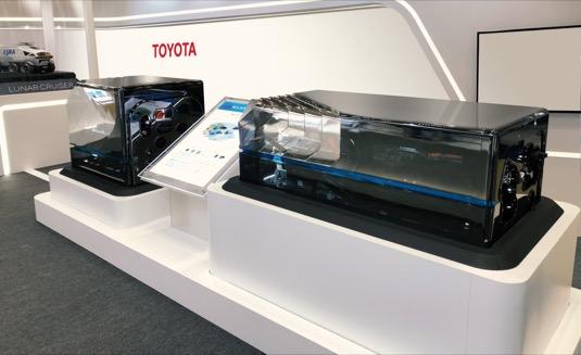 Toyota se zapojila do konsorcia EU FCH2RAIL (Fuel Cell Hybrid Power Pack for Rail Applications) jako dodavatel palivových článků.