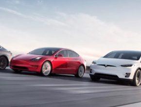 auto elektromobily Tesla Model 3 Model Y