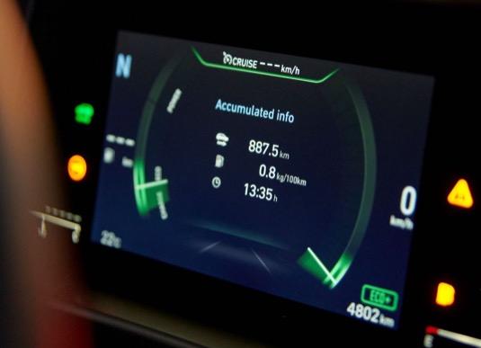 Rekordní jízda s nulovými emisemi byla dlouhá 887,5 km