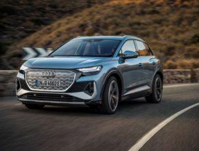 Nabídku kompaktního SUV Audi Q4 e-tron nově rozšiřuje nejsilnější verze 50 quattro. Nabízí výkon 220kW a pohon všech kol za 1 493 900 korun.