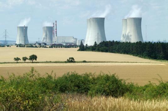 jaderná elektrárna Dukovany ČEZ