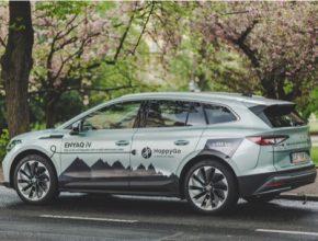 Uživatelé díky HoppyGo mají unikátní příležitost otestovat první SUV elektromobil automobilky Škoda Auto, a to pouhých pár dní poté, co se předváděcí vozy dostaly k prvním autorizovaným dealerům.