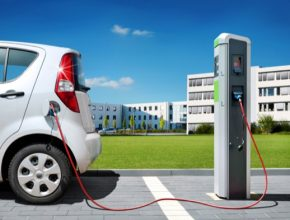 auto nabíjení elektromobilu