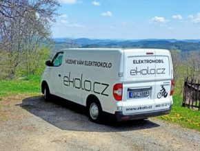 Elektromobil MAXUS eDeliver 3 (dříve označovaný jako EV30) disponuje bateriemi o kapacitě 52 kWh