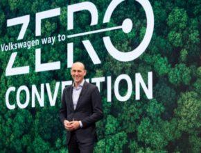 Předseda představenstva značky Volkswagen Ralf Brandstätter na konferenci Way to Zero
