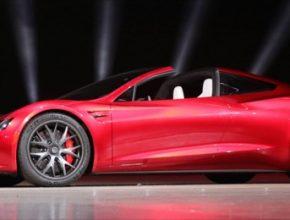 auto elektromobil nový Tesla Roadster