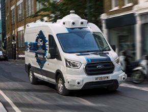 auto Ford dodávky robotické autonomní