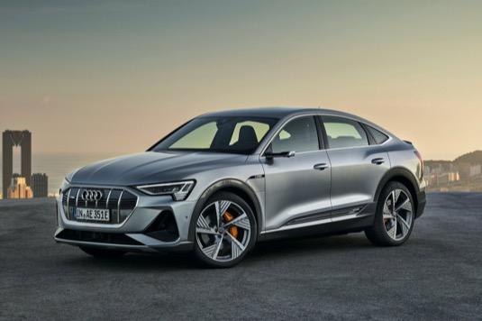 Elektromobil Audi e-tron Sportback z roku 2020