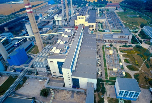 uhelná elektrárna Mělník