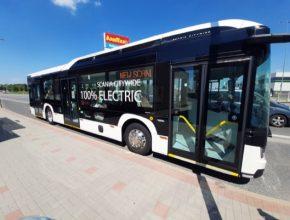 COMETT PLUS testoval první čistě elektrický autobus