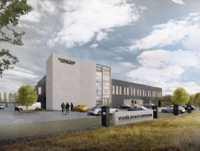 Vizualizace Vzdělávacího centra, jehož otevření je plánováno na jaro příštího roku.