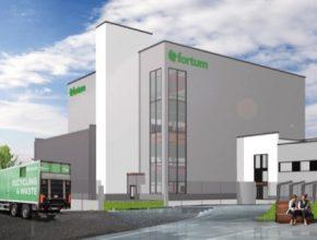 Továrna na recyklaci li-ion baterií z elektromobilů společnosti Fortum, která má vyrůst ve finském městě Harjavalta.