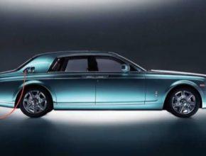 auto elektromobil Rolls Royce Silent Shadow