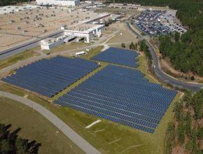 Už během března 2021 spustil Bridgestone u své továrny v Jižní Karolíně (USA) novou fotovoltaickou solární elektrárnu o výkonu 2 MW.