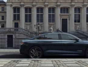 DS 9 je velký sedan nové generace určený pro mezinárodní trhy.