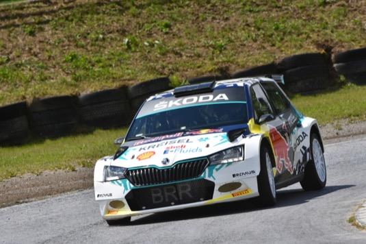 Škoda Motorsport přestavěla závodní vůz Škoda Fabia Rally2 evo na elektromobil
