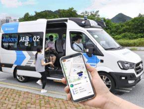 "Hyundai Motor bude testovat autonomní službu ""RoboShuttle"""
