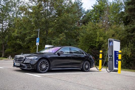 auto plug-in hybrid Mercedes-Benz třídy S
