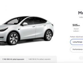 auto elektromobil Tesla Model Y cena elektromobilu