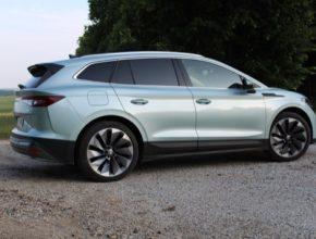 auto elektromobil Škoda Enyaq iV test