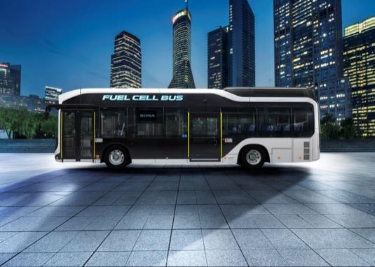Vodíkový autobus Sora