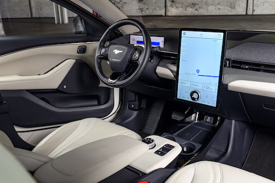 Elektromobil Ford Mustang Mach-E