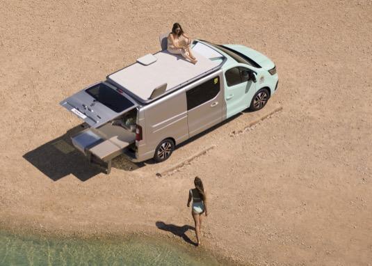 Auto na plážové radovánky jako stvořené
