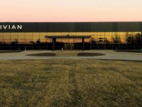 auto továrna na výrobu elektromobilů Rivian USA Normal Illinois