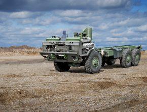 Nový vodíkový nákladní vůz Tatra má být postaven na nejnovějším podvozku Tatra Force. foto: Tatra