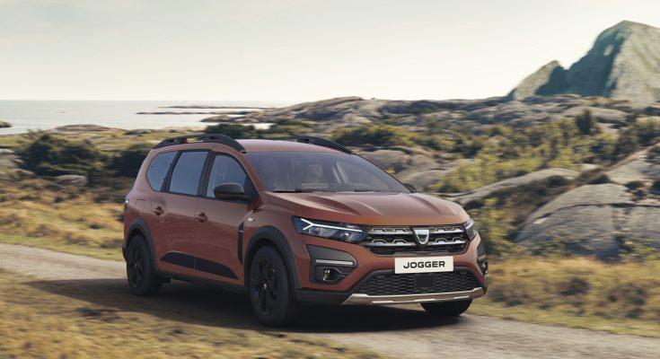 Dacia Jogger se stane nejdostupnějším sedmimístným hybridem na trhu. Dostupná bude v roce 2023. foto: Dacia