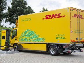 Elektricky poháněné nákladní vozidlo Volvo FL 42 R Electric bude zajišťovat přepravu mezi sklady.