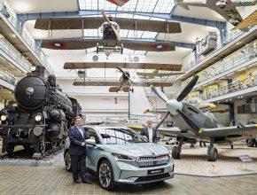 elektromobil Škoda Enyaq iV Národní technické muzeum