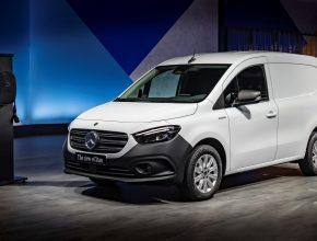 Elektromobil - elektrická dodávka - Mercedes-Benz eCitan. foto: Mercedes
