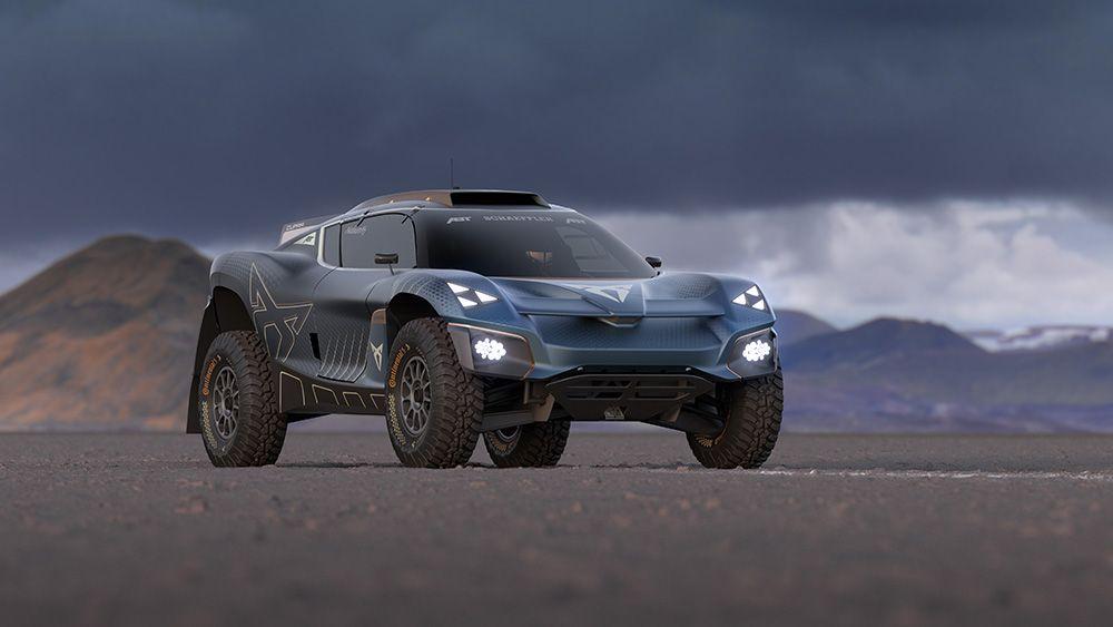 Elektromobil Cupra Tavascan Extreme E Concept. foto: Cupra