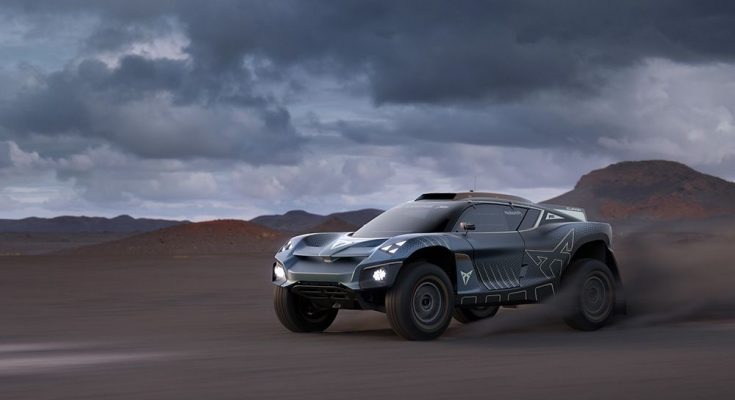 Elektromobil Cupra Tavascan Extreme E Concept