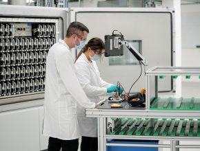 Volkswagen činí novou laboratoří další významný krok směrem k výrobě vlastních bateriových článků. foto: Volkswagen