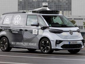 Volkswagen ID Buzz AD1 elektromobil robotické auto taxi