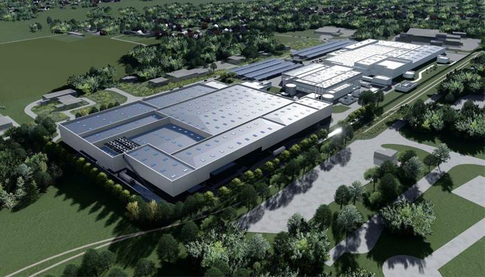 Takto by měla vypadat budoucí továrna ACC. foto: Stellantis