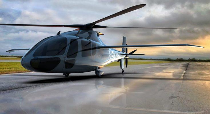 Kombinovaný vodíkový vrtulník Piasecki PA-890. foto: Piasecki