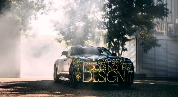 Elektromobil Rolls-Royce Spectre. foto: Rolls-Royce