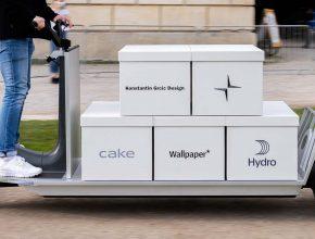 elektrická tříkolka elektromobil Polestar Re:Move