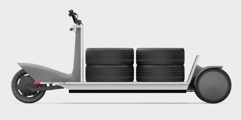 elektrická nákladní tříkolka Polestar Re:Move
