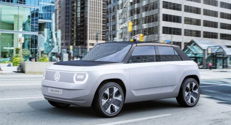 Volkswagen ID. Life koncept elektromobilu