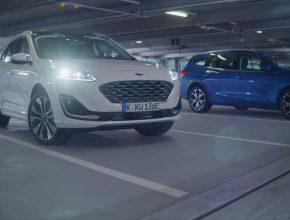autonomní robotické parkování Ford