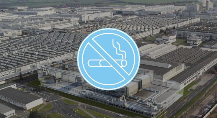 Škoda Auto je nově nekuřáckou společností.
