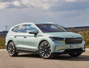 Elektromobil Škoda Enyaq iV je letos zatím nejprodávanějším v České republice. foto: Škoda