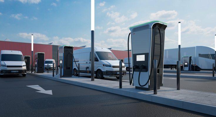 ABB uvádí na trh nejrychlejší nabíjecí stanici elektromobilů na světě. foto: ABB