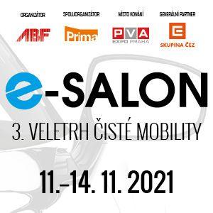 E-salon elektromobily veletrh Praha