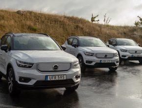 elektromobil Volvo XC40. Už tak poměrně bohatá nabídka plně elektrických crossoverů na evropském trhu je díky Volvo XC40 ještě zajímavější.